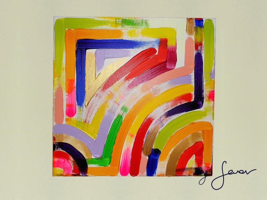 Joy of Life, Painting No. 21 by Swav