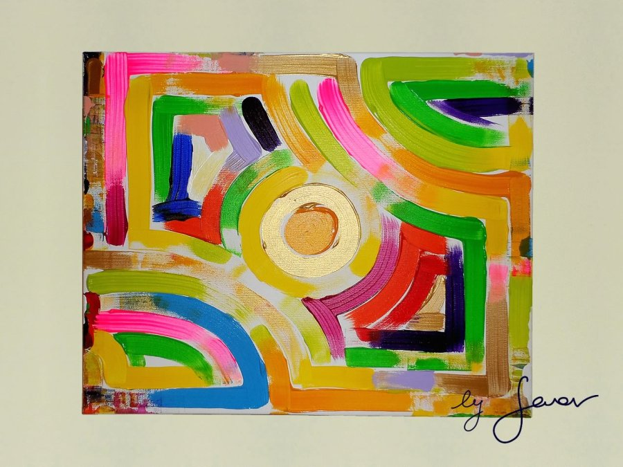 Music of Love, Painting No. 22 by Swav