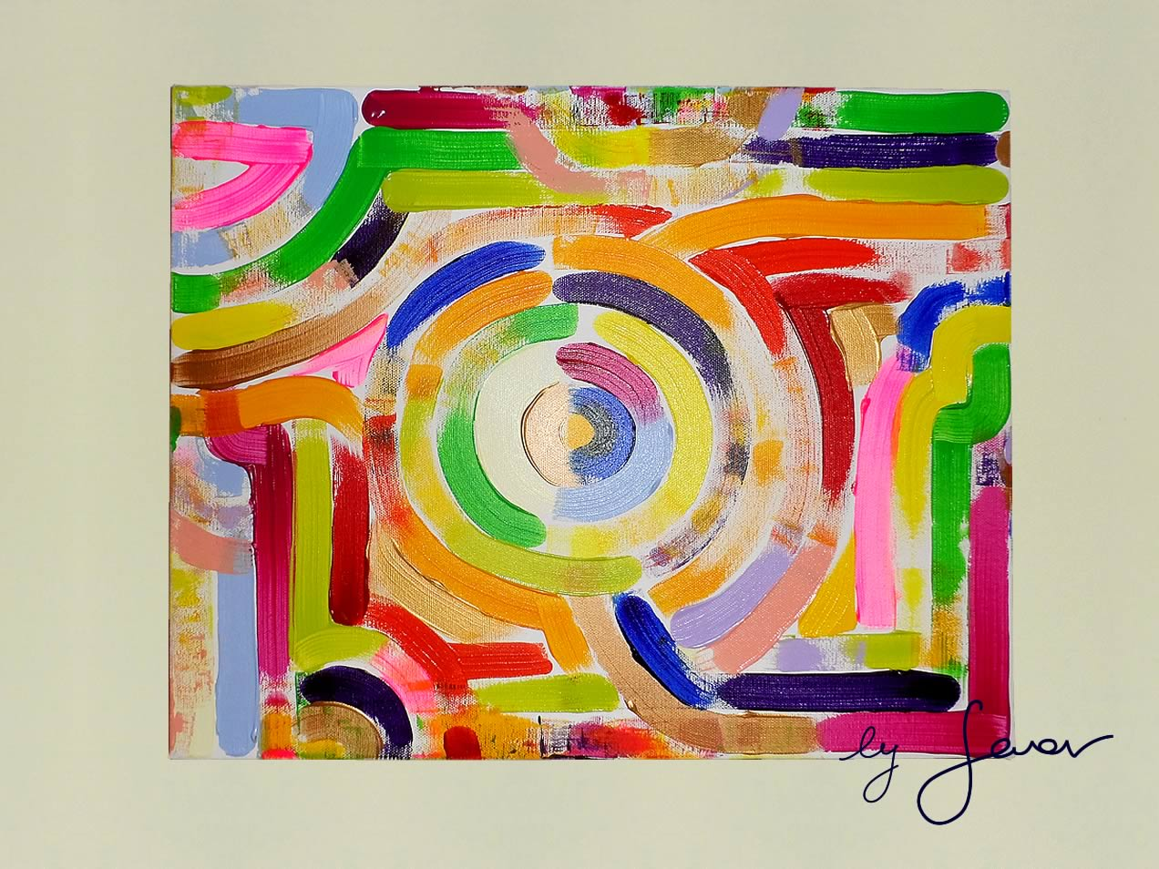 Dance of Life, Painting No. 23 by Swav
