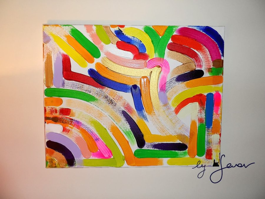 Trust Yourself, Painting No. 25 by Swav