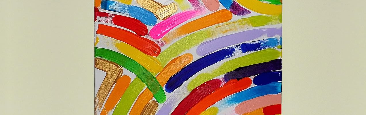 The Rainbow Way, Painting No. 29 by Swav
