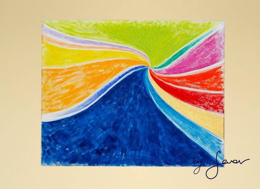 The Wave, Painting No. 7 by Swav