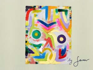 Night Owl, Painting No. 9 by Swav
