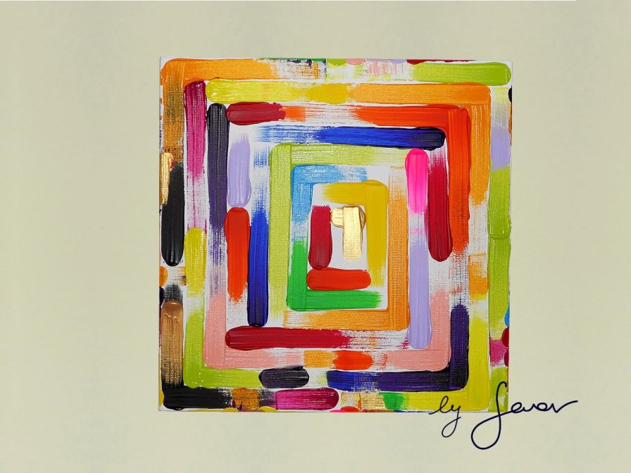 The Compass, Painting No. 27 by Swav