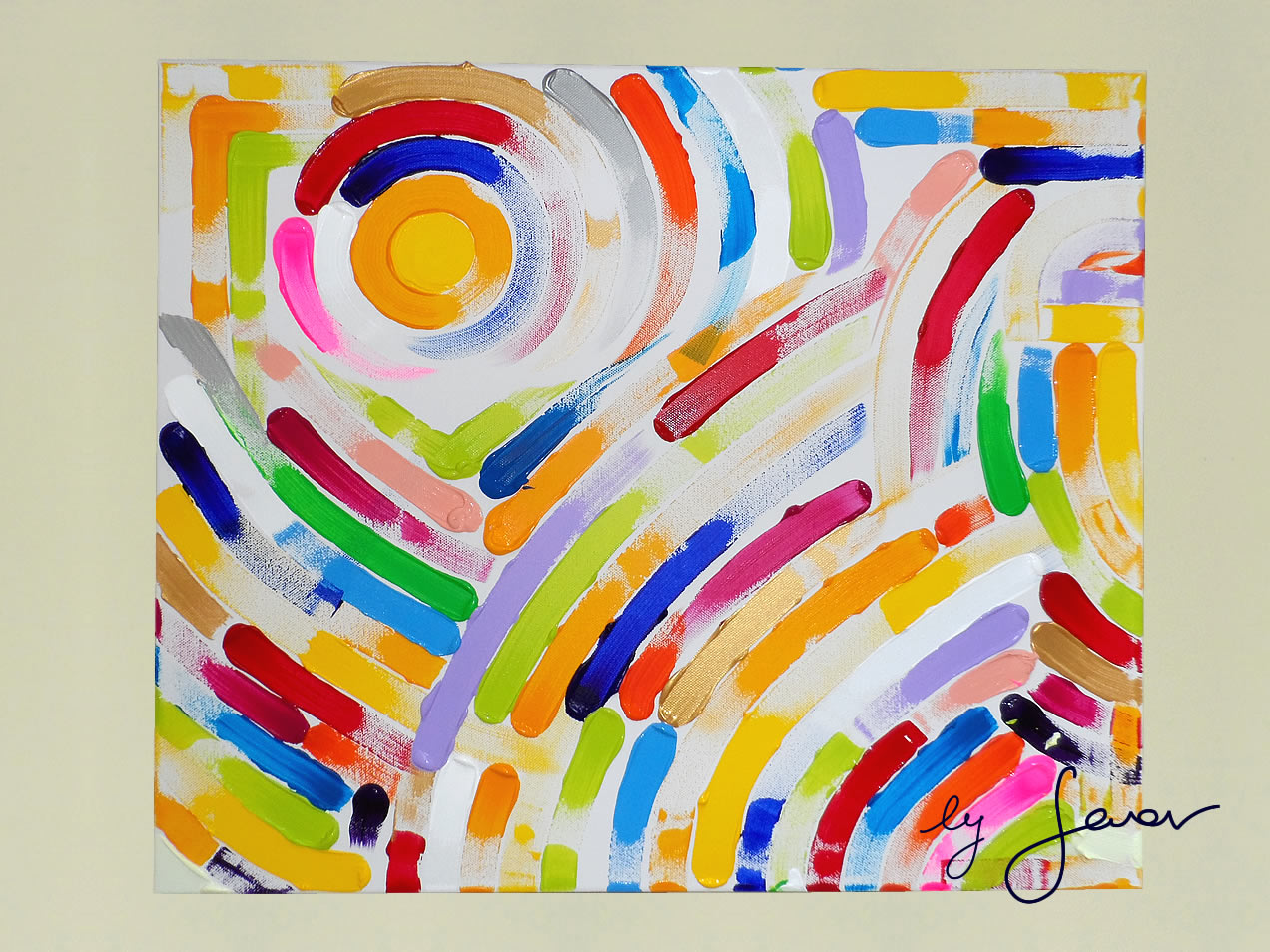 Constant Movement, Painting No. 41 by Swav