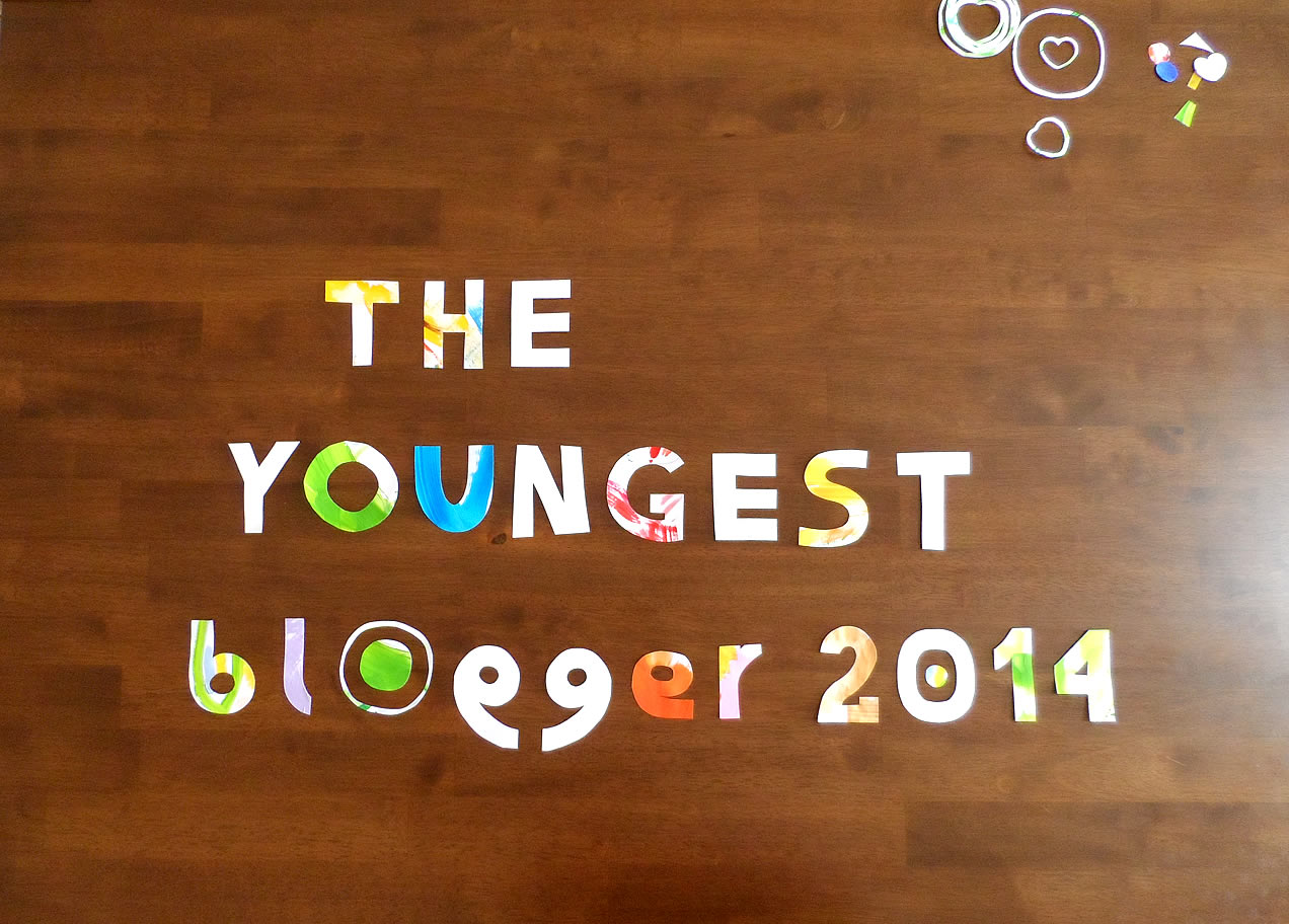 The Youngest Blogger of 2014