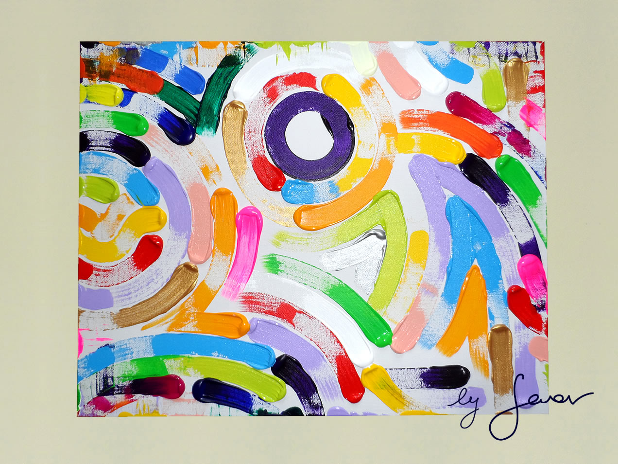 Day of Fun, Painting no. 46 by Swav