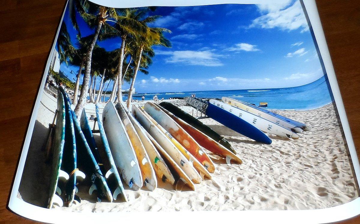 Waikiki Beach of Oahu Island, Hawaii