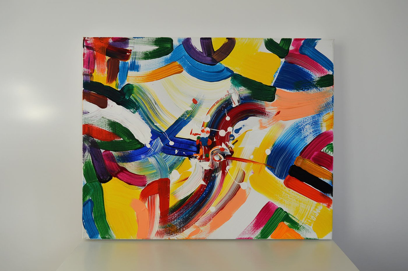 Music is Life, Painting No. 5 by Swav