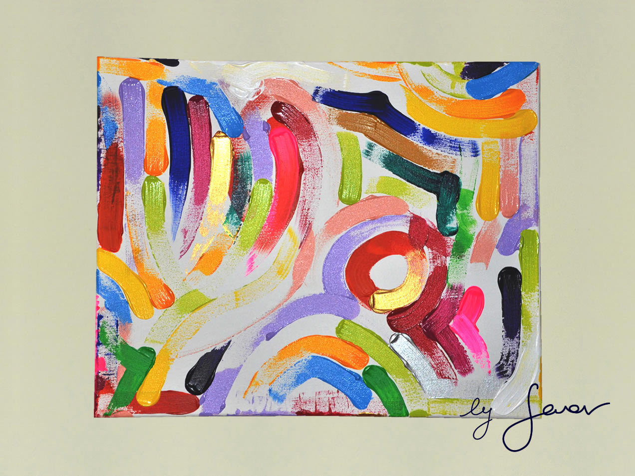 The winds of life, Painting No. 51 by Swav (18 October 2014)