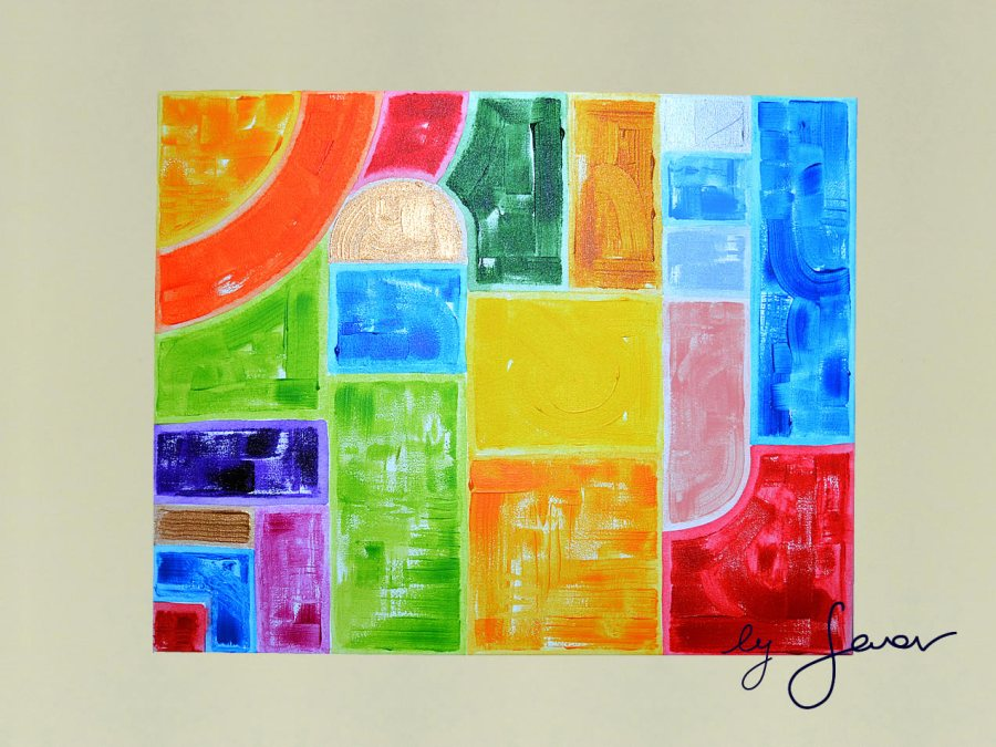 Inner Talent, Painting No. 13 by Swav