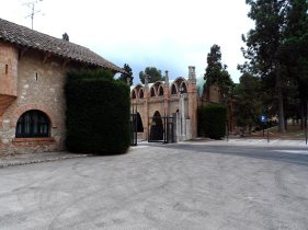 Codorniu est. 1551, vineyard, near Barcelona