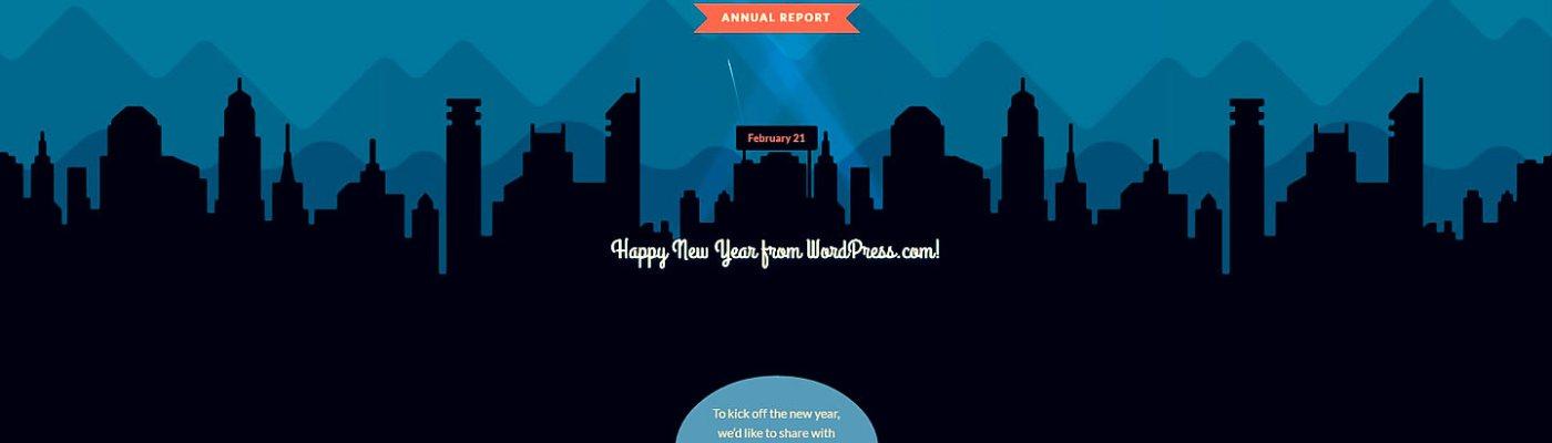 The year of blogging at #WordPressDotCom
