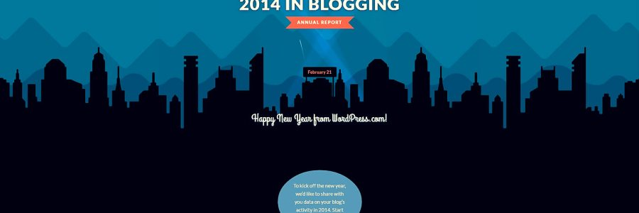 The year of blogging at #WordPressDotCom