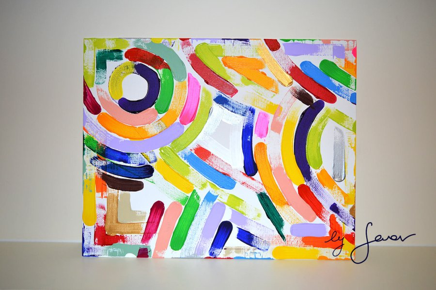 The Year of Abundance, Painting No. 58 by Swav