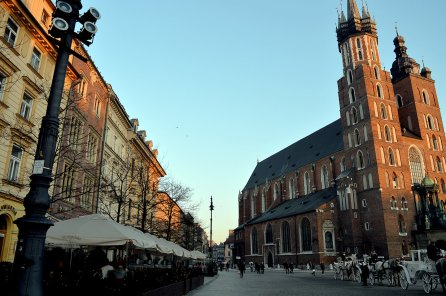 The Main Square, Old Town, Krakow