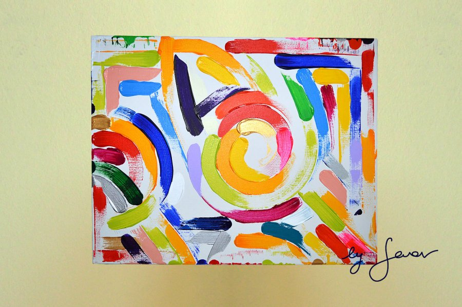 The Choice, Painting No. 62 by Swav