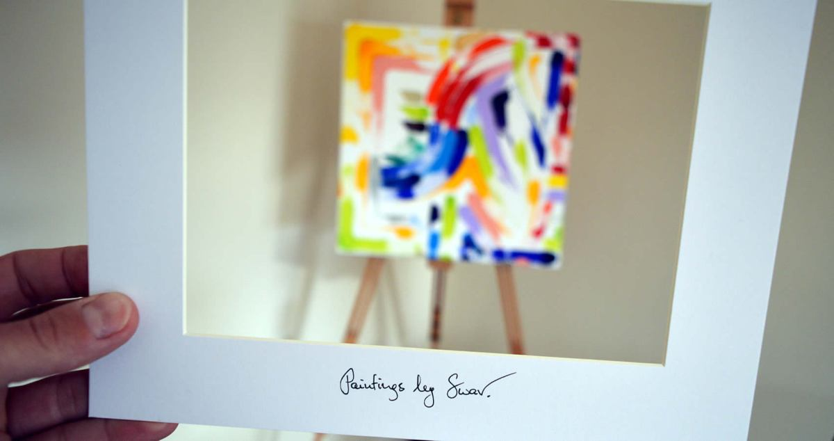 Inner Faith, Painting No. 72 by Swav #FridayReads #bySwav
